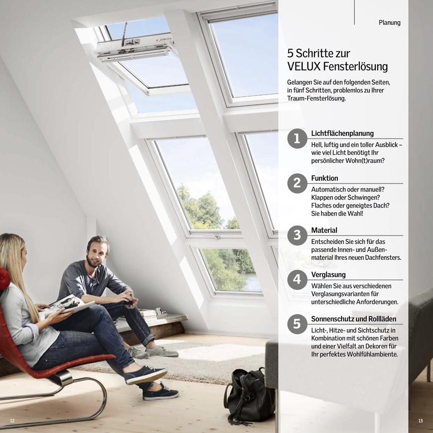 Velux - Dachfenster-Planer
